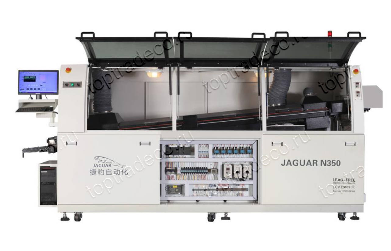 Wave soldering machine Jaguar N350